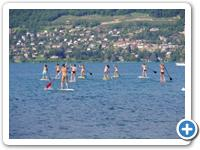 Stand Up Paddle sur Lac